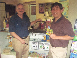 Craig and Derrick in their Shop