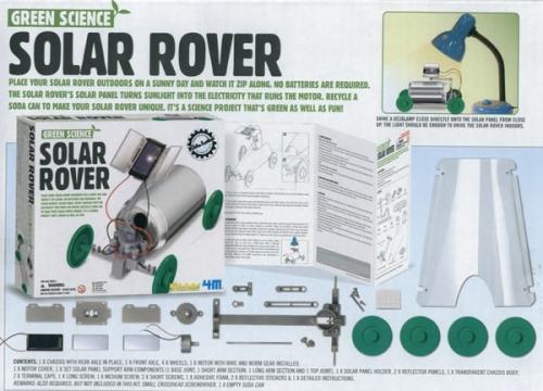 Reach And Teach Green Science Solar Rover