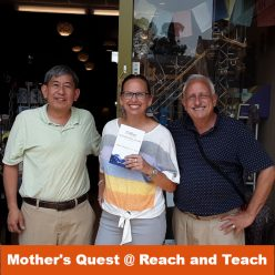 Julie Neale of Mother's Quest at Reach and Teach